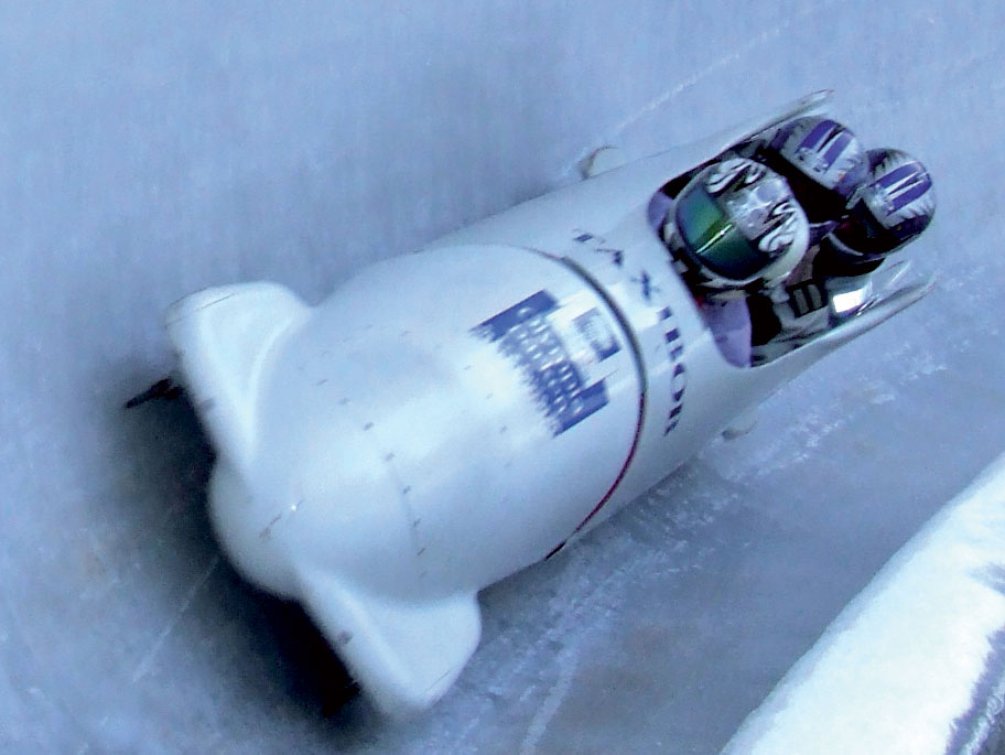 Bobsledding in Lillehammer