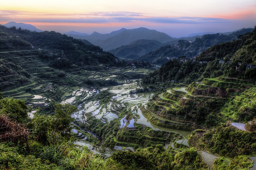 Sunrise over Ifugao