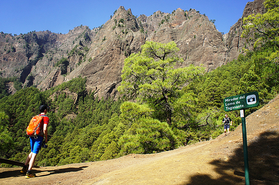 Self-guided walking, La Palma