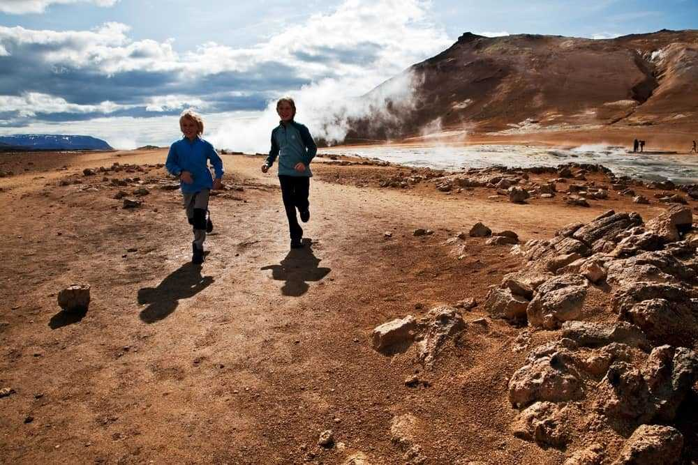 running in iceland