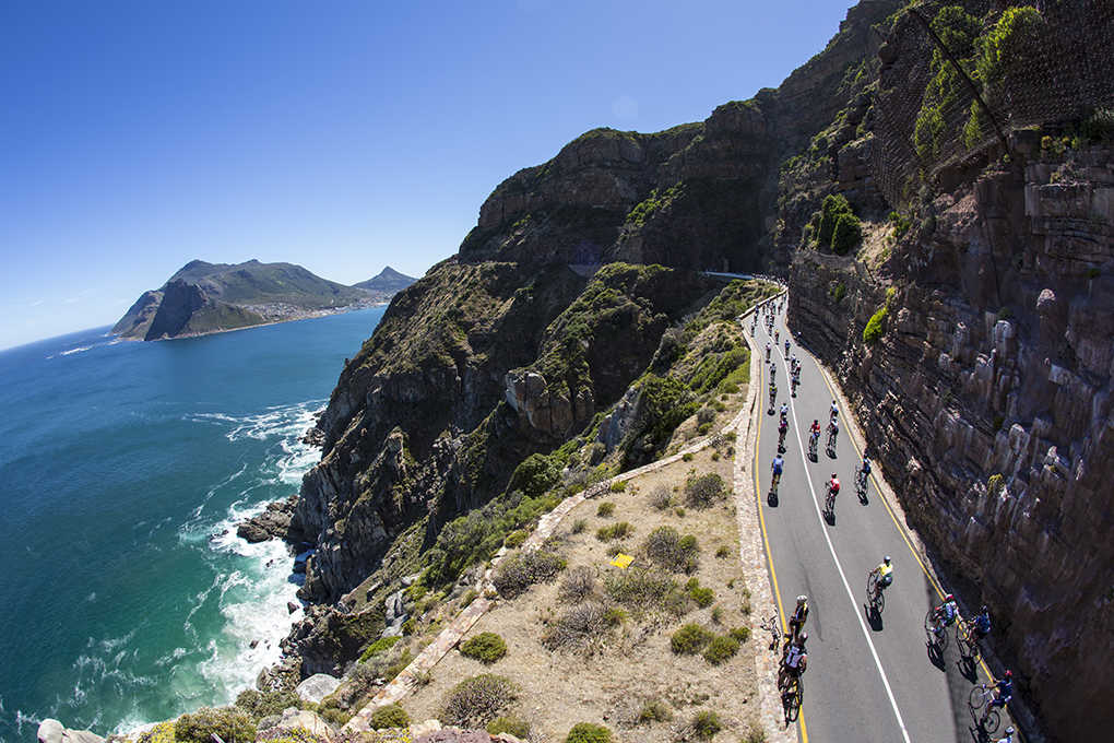 cycling in cape argus