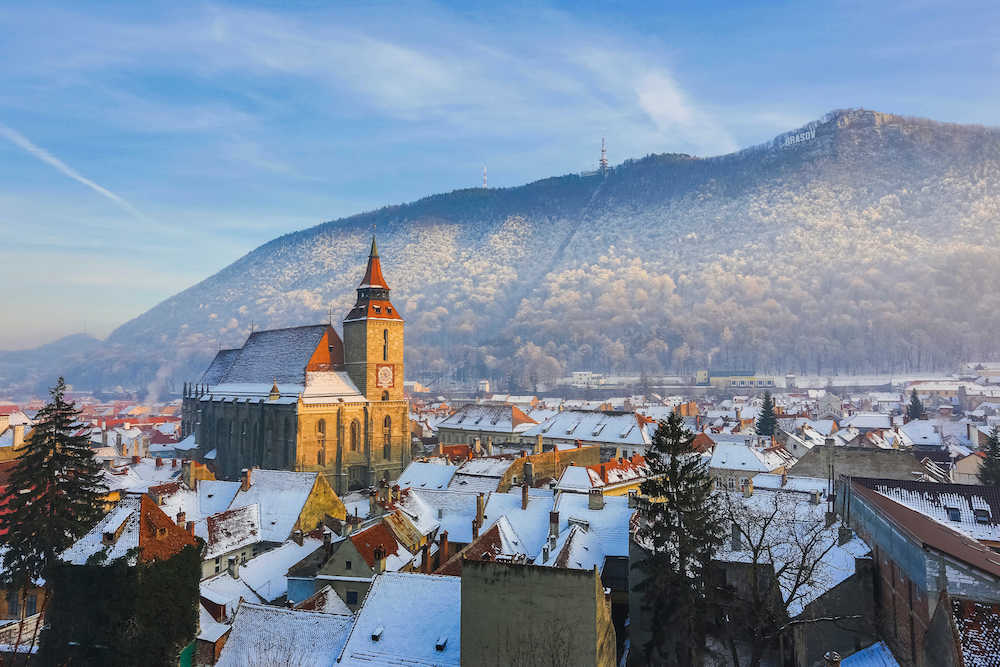 Transylvania in the Winter