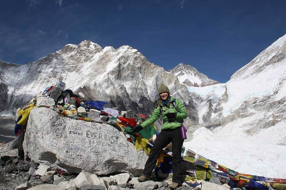 At Everest Basecamp