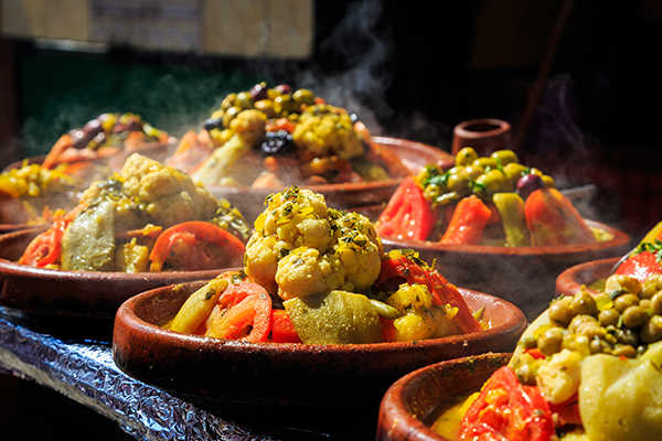 Vegetarian Moroccan Dishes