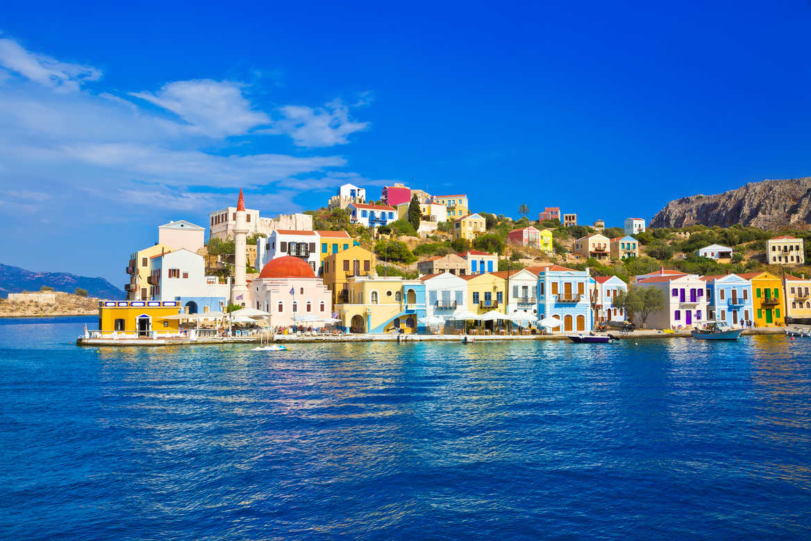 Greek island of Kastellorizo