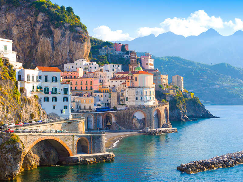 View of Amalfi Coast