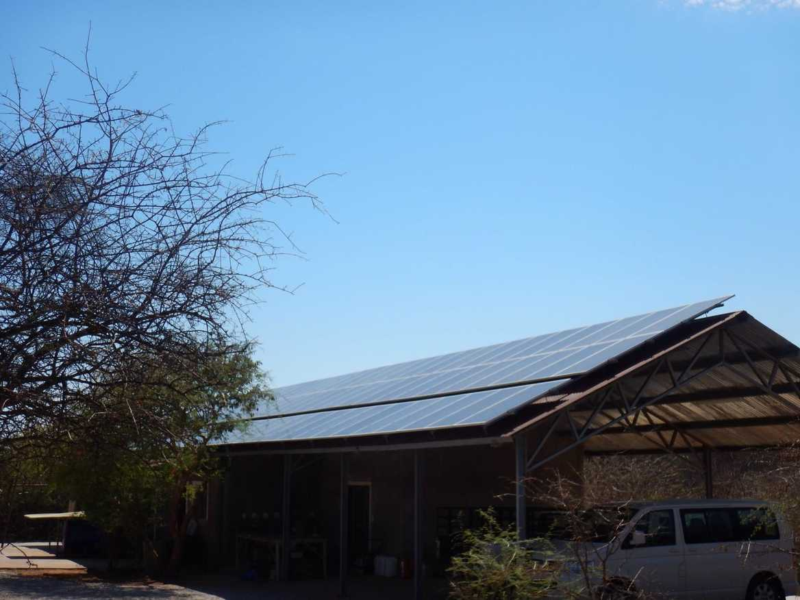 Solar Panels in Namibia