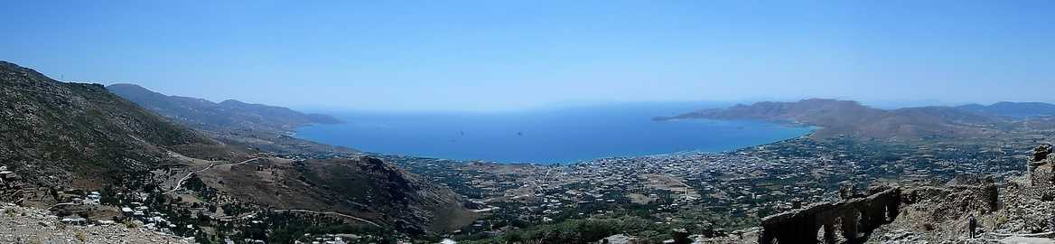 Panorama of Castillo Rosso Greece