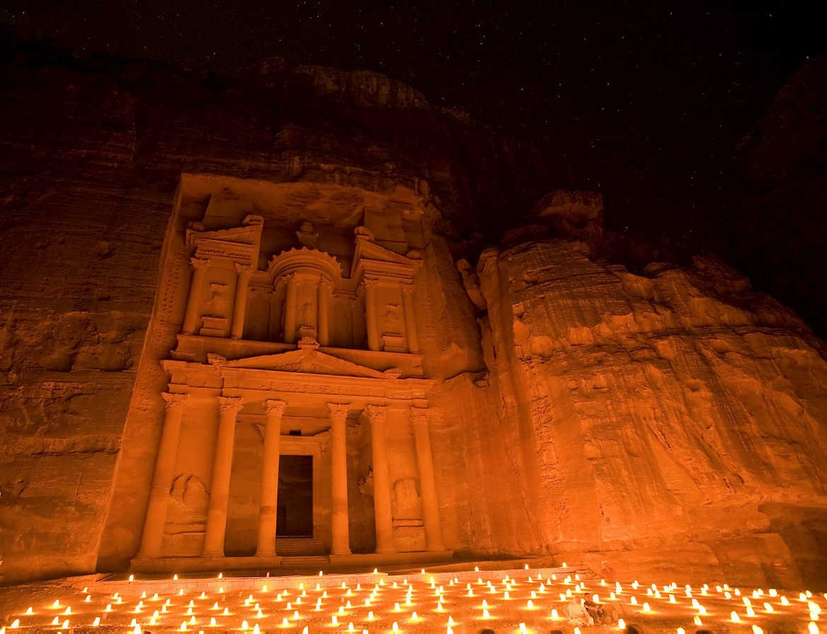 The 'red-rose city' Petra