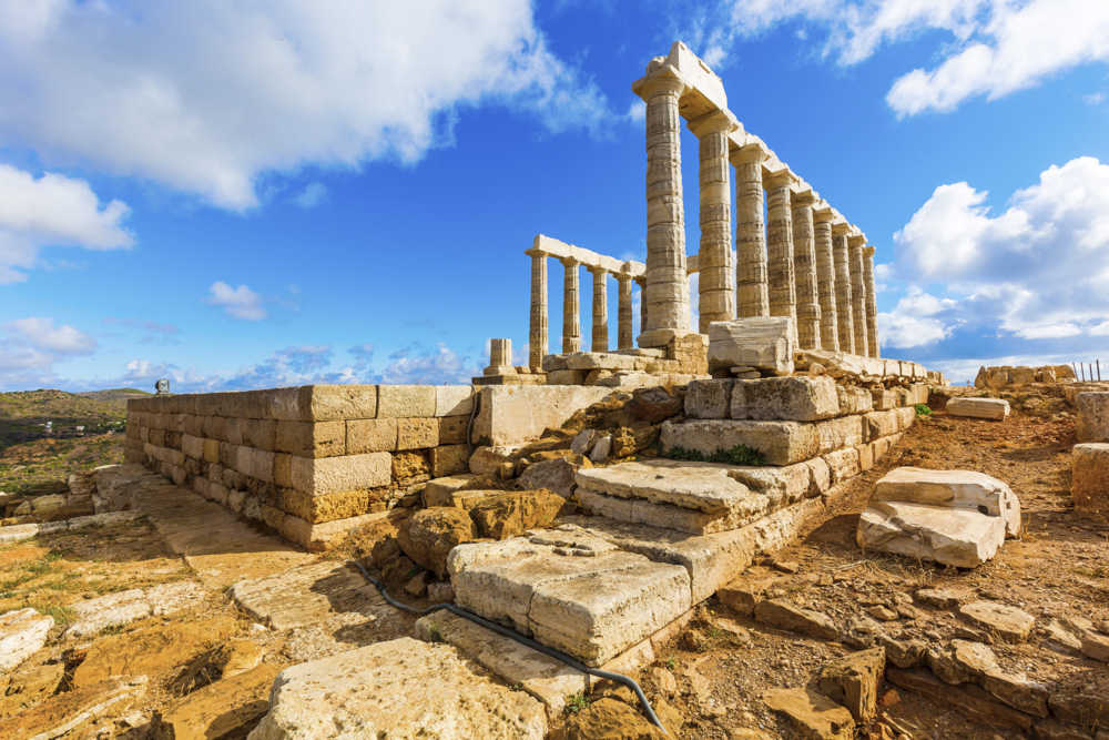Poseidon's temple Greece