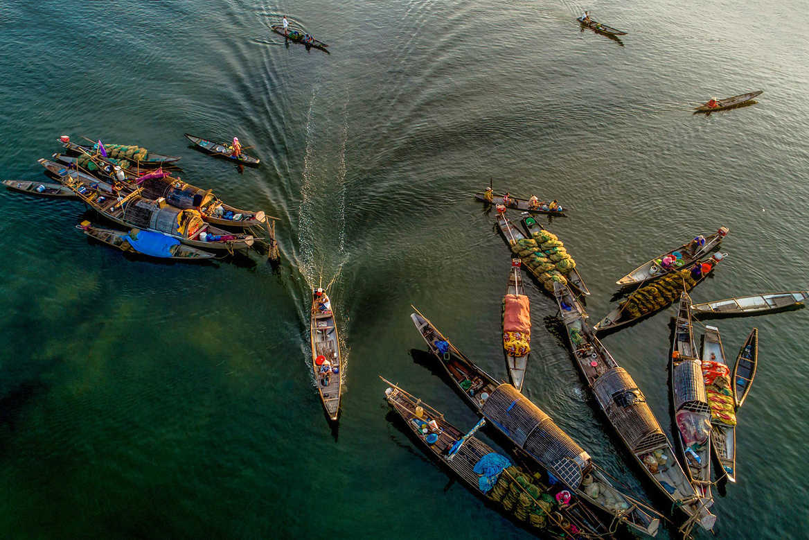 Boats in Vietnam