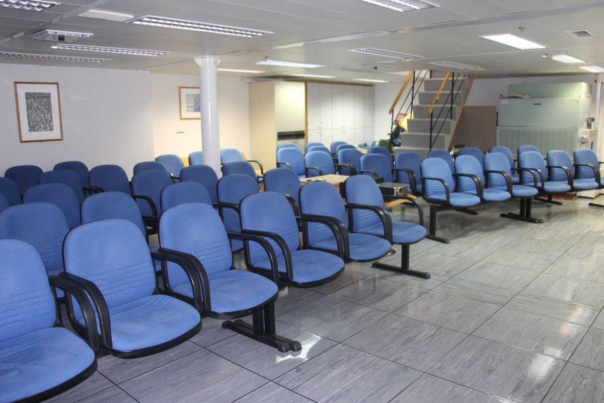 Lecture room, Akademik Ioffe