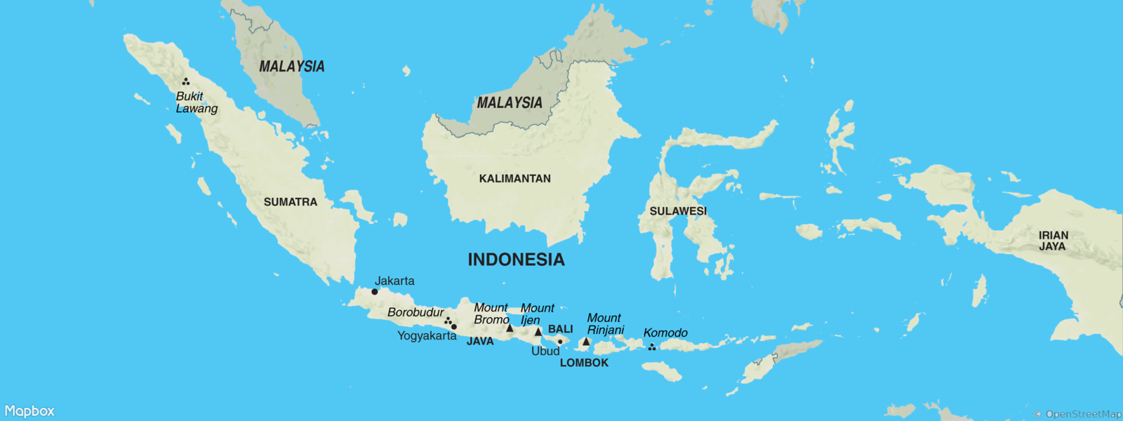 Indonesia map