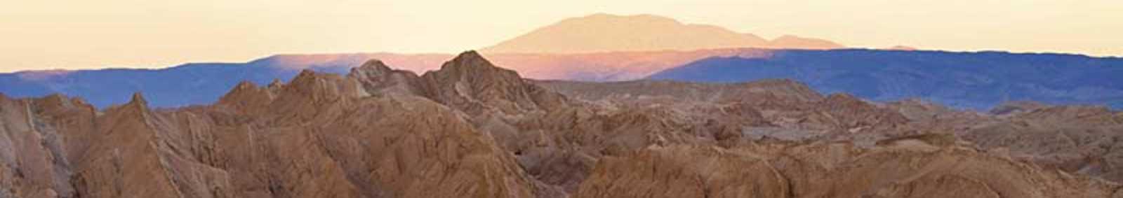 The Valley of Moon at sunrise, San Pedro de Atacama, Chile
