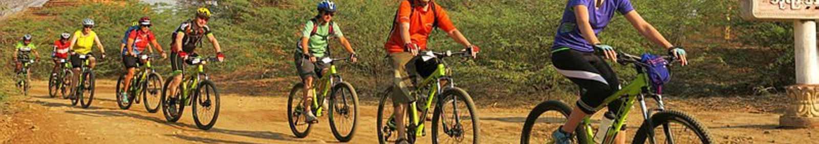 cycling in Bagan