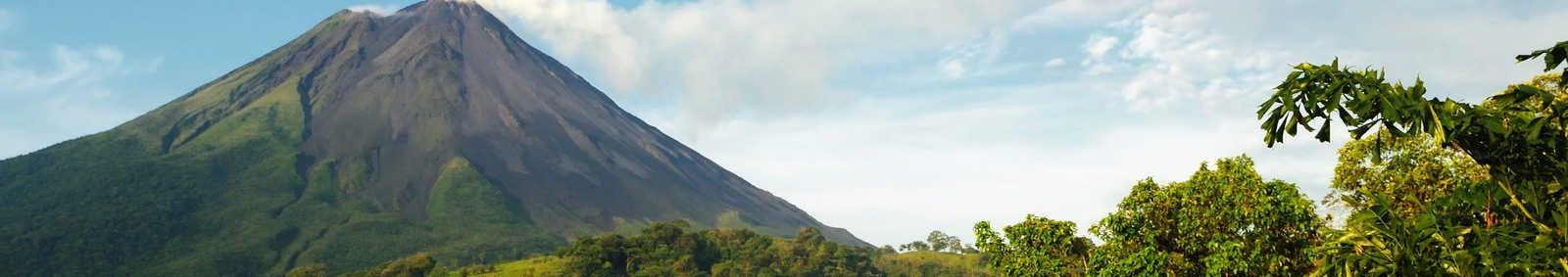 Arenal Volcano emitting smoke, Costa Rica
