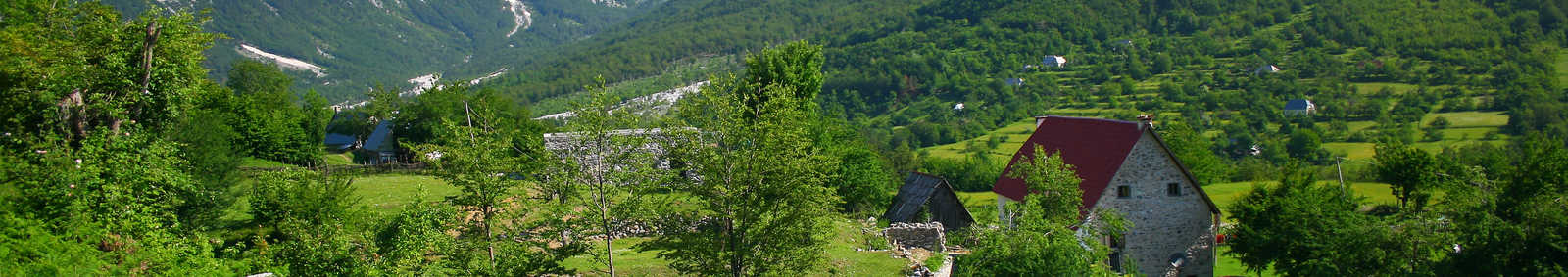 Theth Valley, Albania