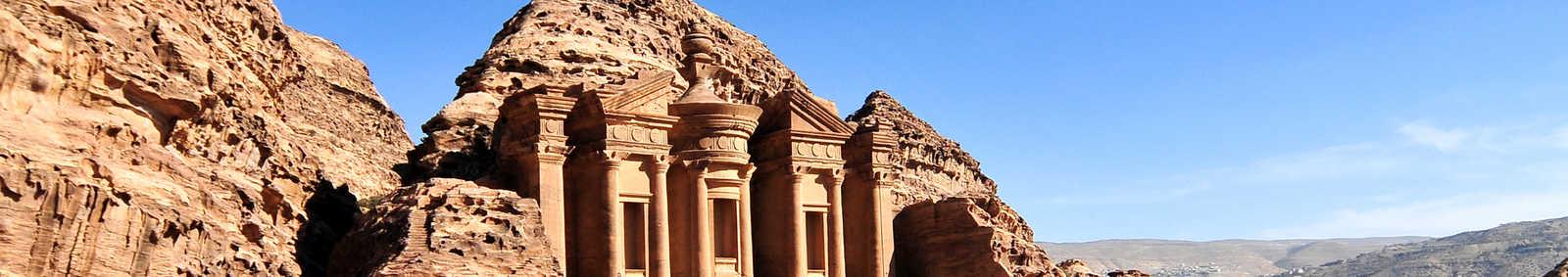 The Monastery at Petra