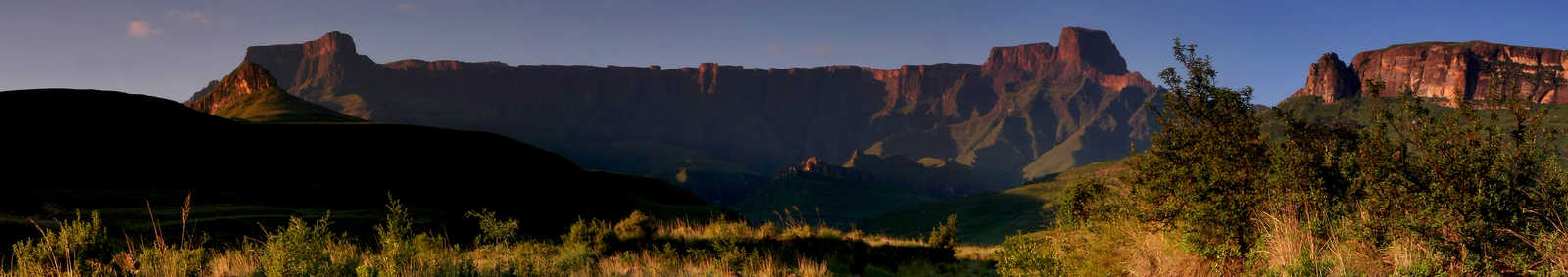 Drankesberg mountains in South Africa