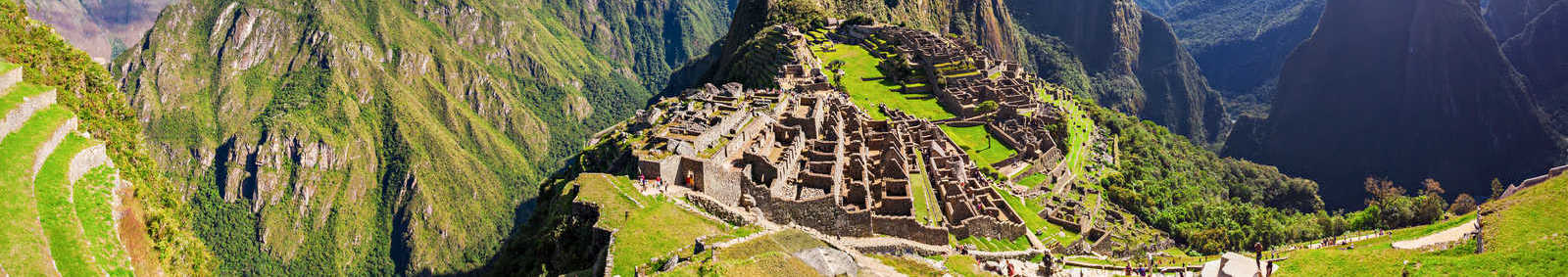 Machu Picchu and the Sun Gate