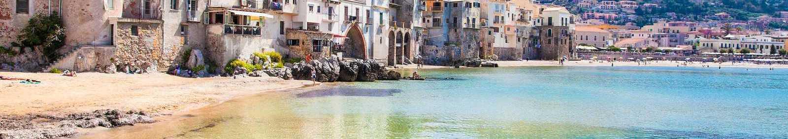 harbour in sicily