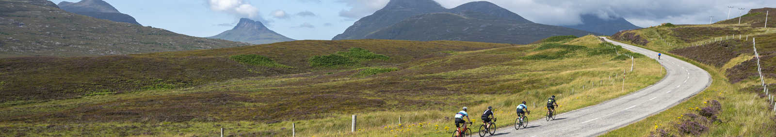 Cycling the Scottish Highlands
