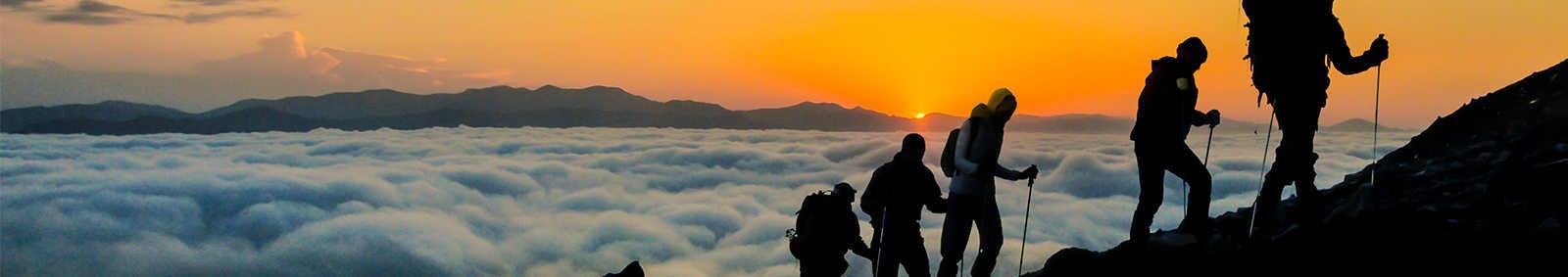 Sunset Mountain Hiking