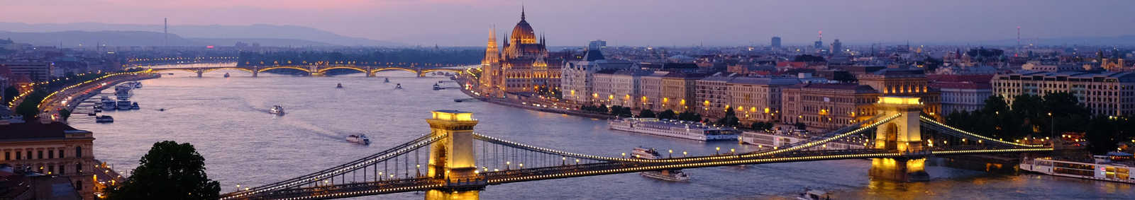 Budapest City at Night