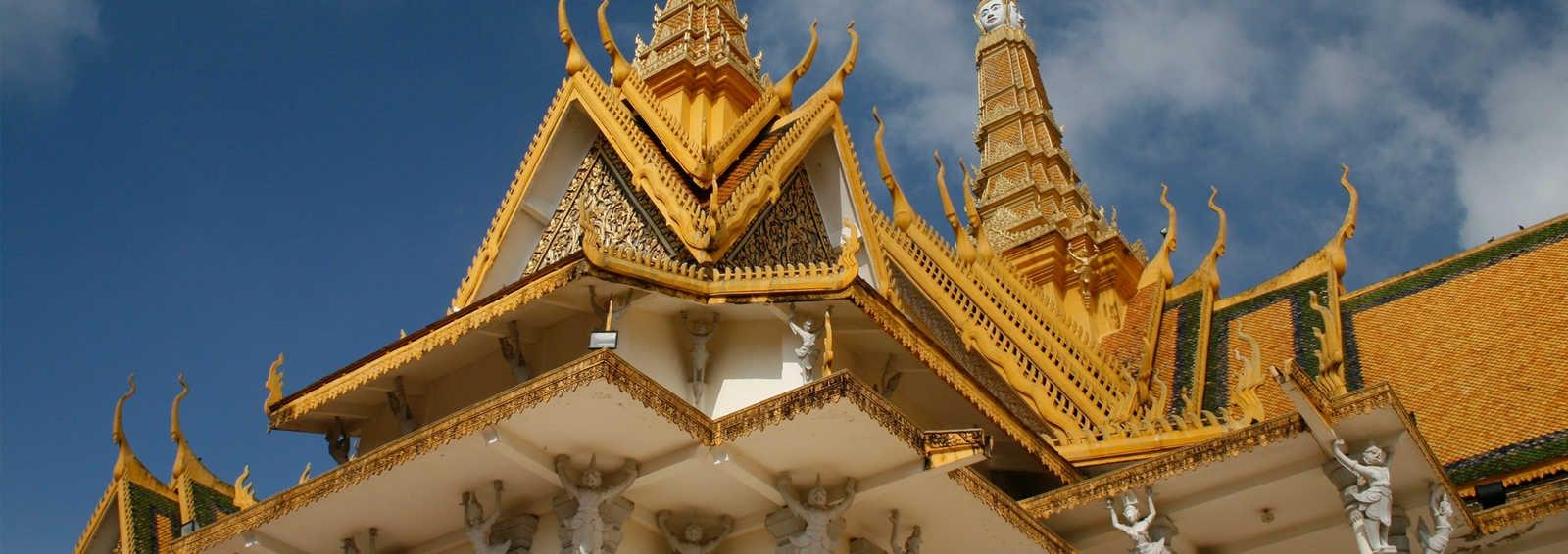 The Royal Palace and Temples, Phnom Penh, Cambodia