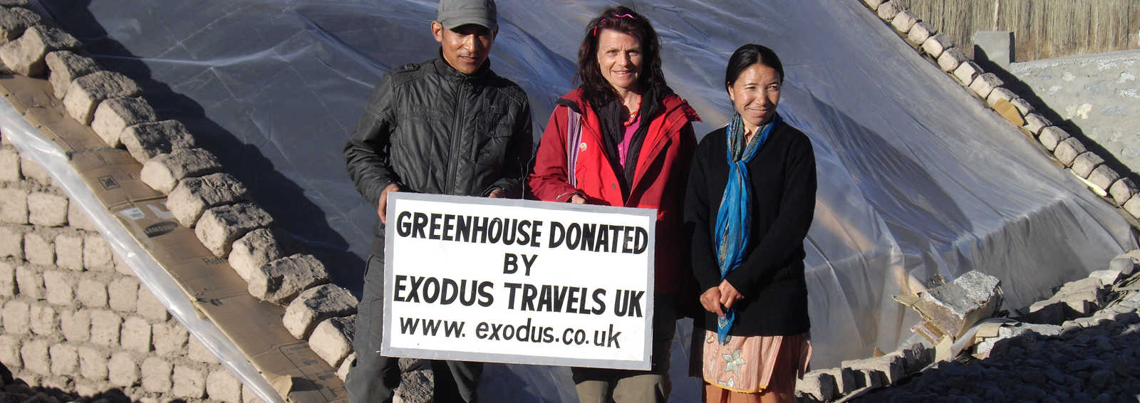 Greenhouse in Ladakh - Exodus RT project