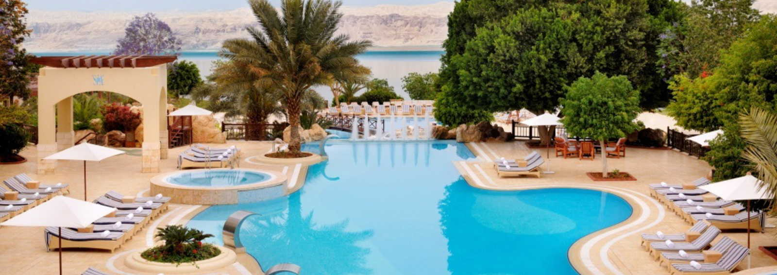 The 5 star Marriott Dead Sea Resort, Jordan