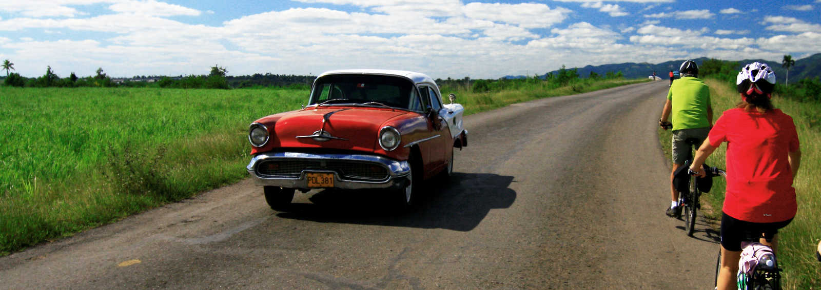 Cycling through iconic Cuba