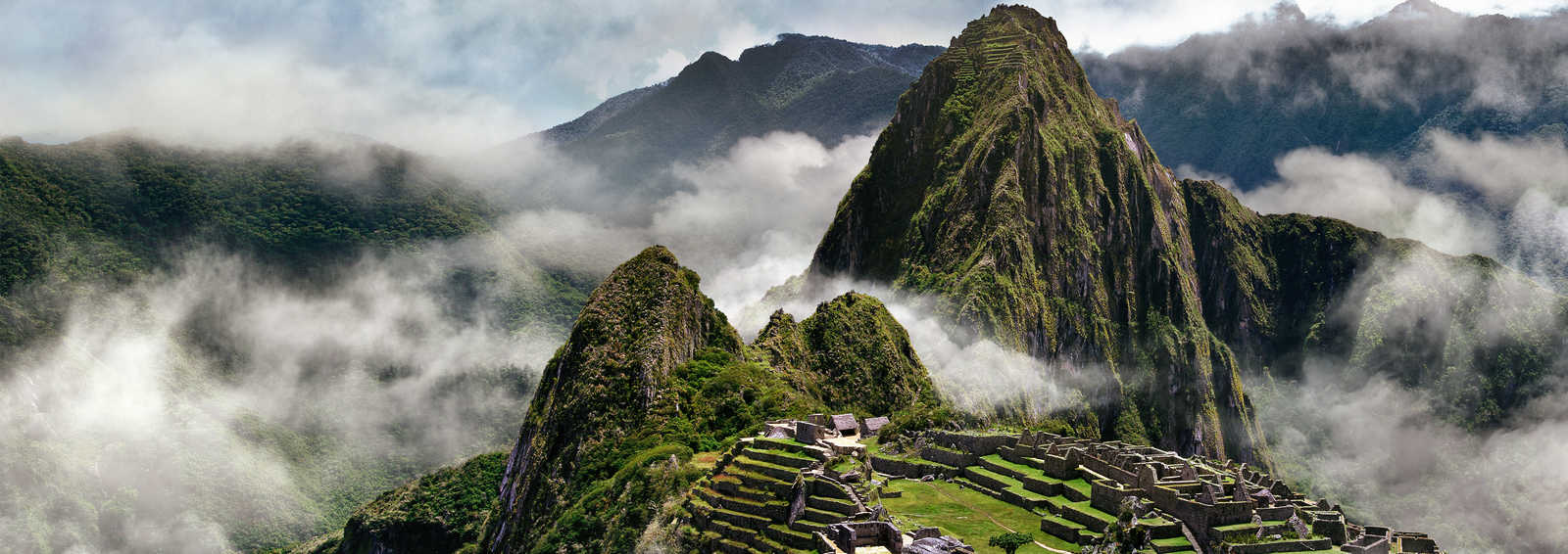 Misty Machu Picchu