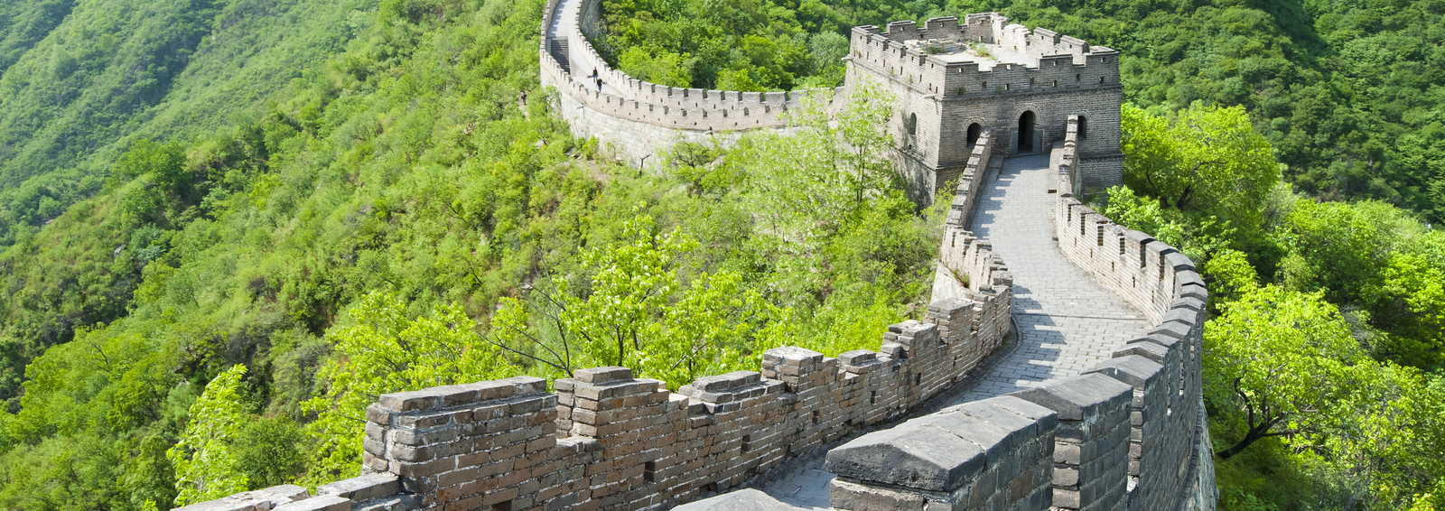 Great Wall of China in Summer, China
