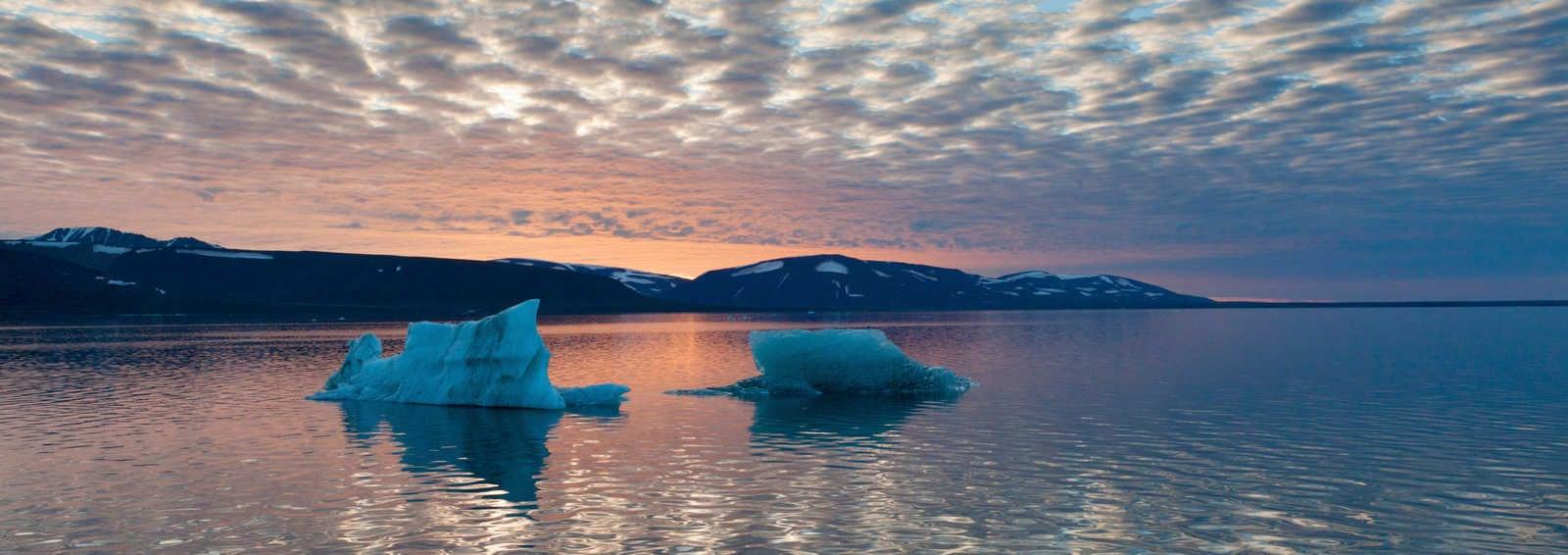 Evening light in Svalbard