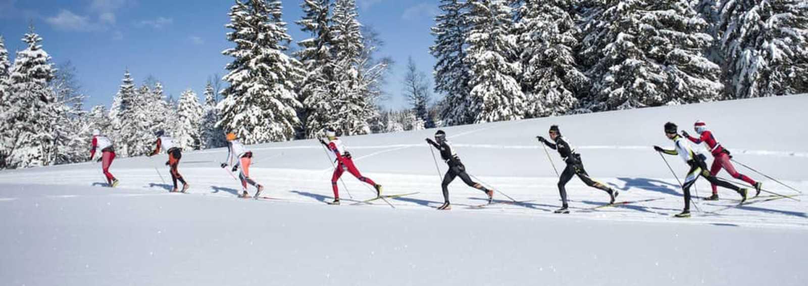 Transjurassienne ski race, France