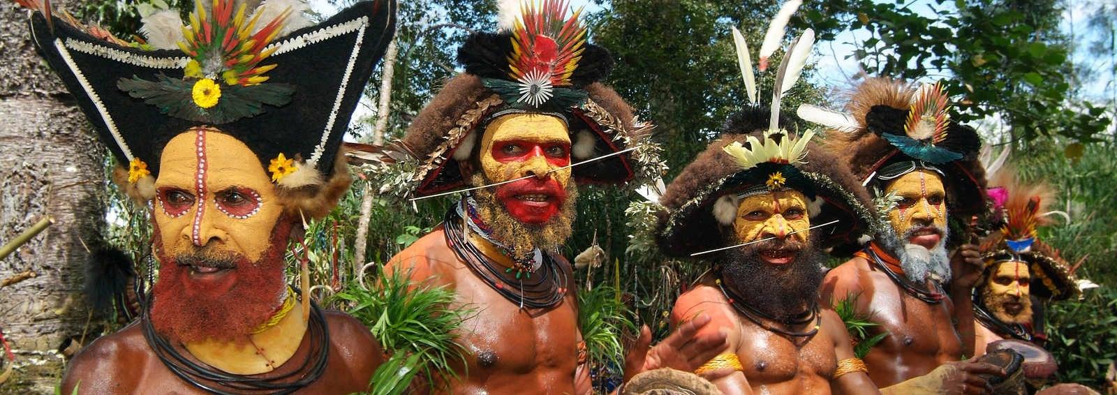 Huli Wigmen, Oceania