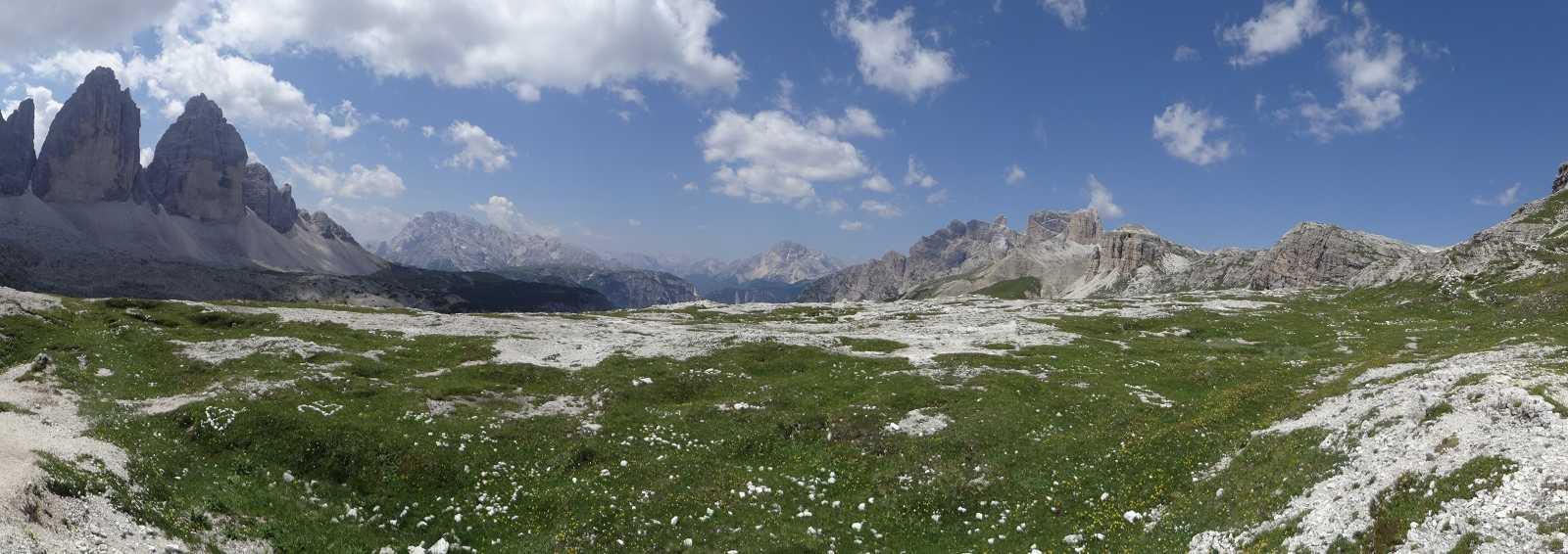 Tre Cime di Lavaredo, Dolomites, Italy