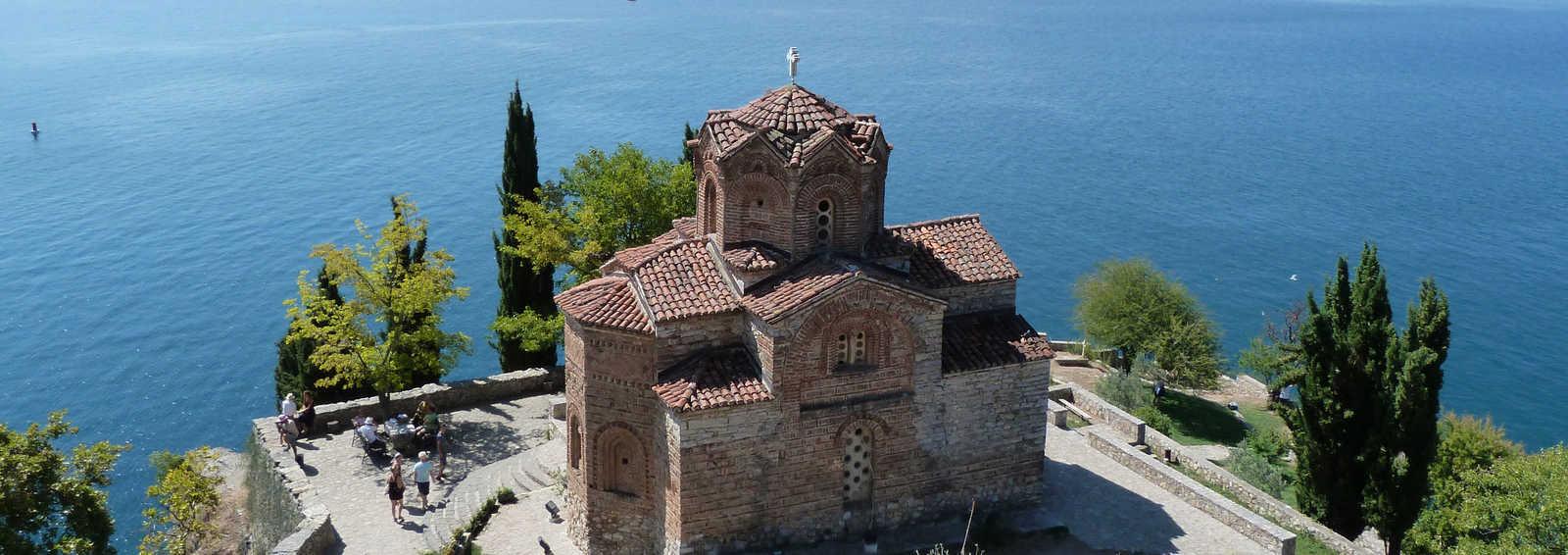 Church of St John at Kaneo, on Lake Ohrid