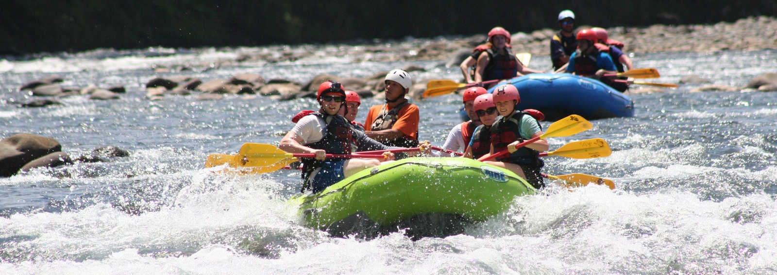 Sarapiqui river rafting, Costa Rica