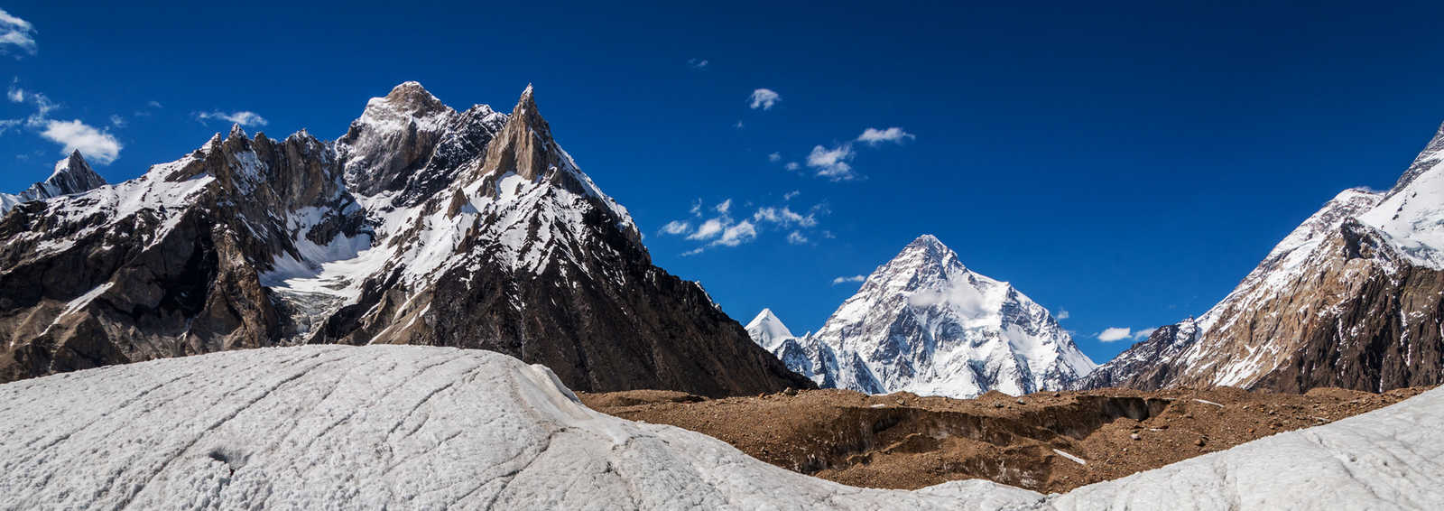 Mt.K2 reflection view from Concordia, Pakistan