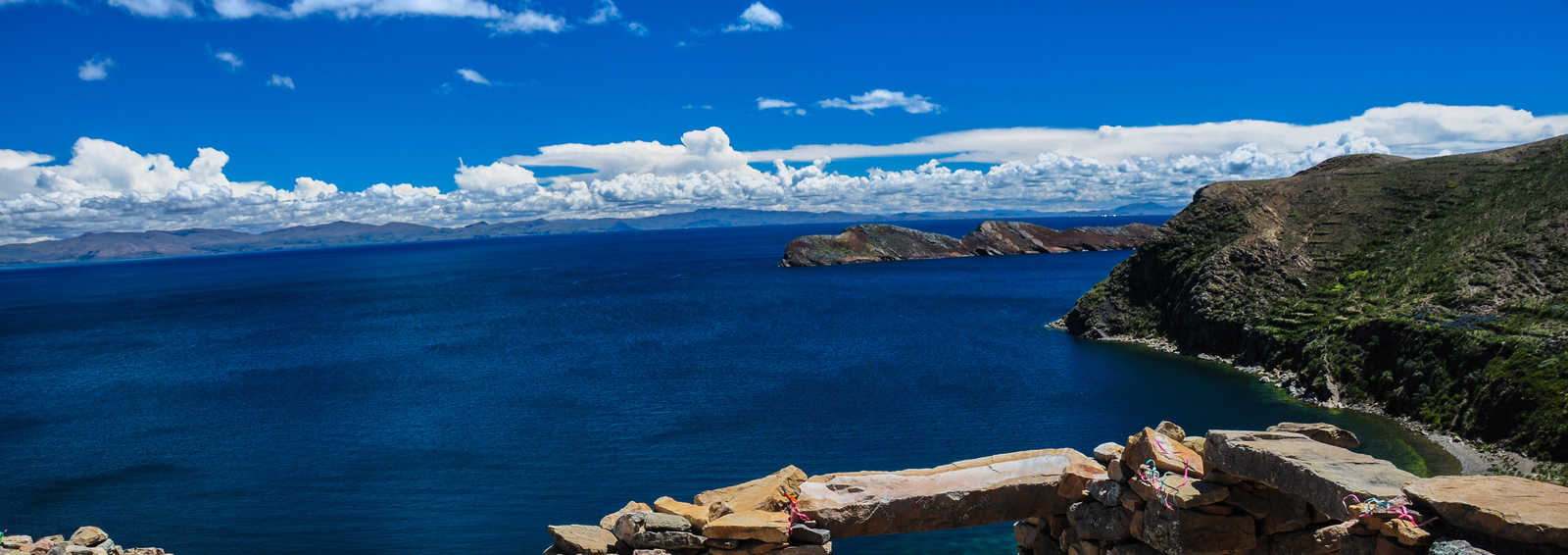 Inca Ruins of Isla del Sol, Lake Titicaca, Bolivia