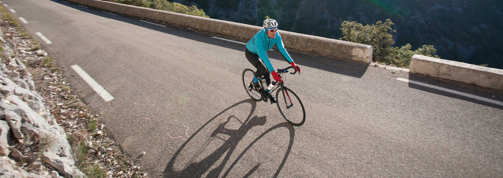 Cycling in the Nesque Gorges