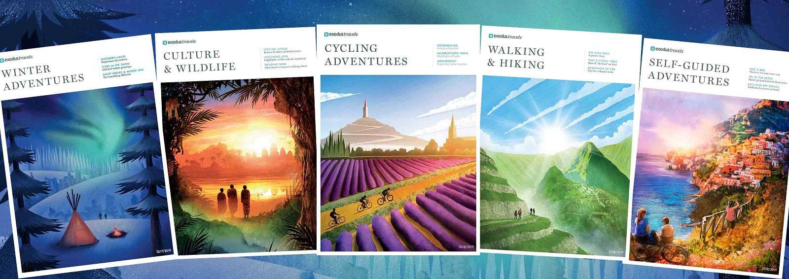 Order our Walking, Cycling, Self-Guided, and Responsible Wildlife Brochures
