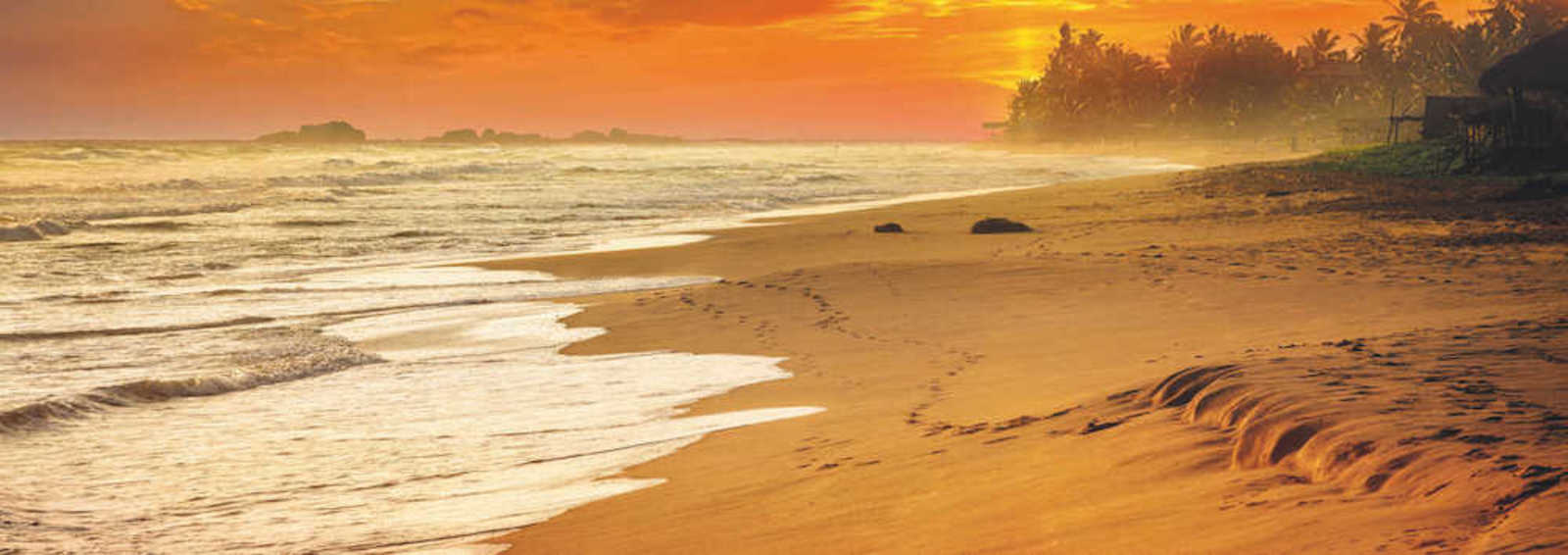 Sri Lanka's world-famous beaches