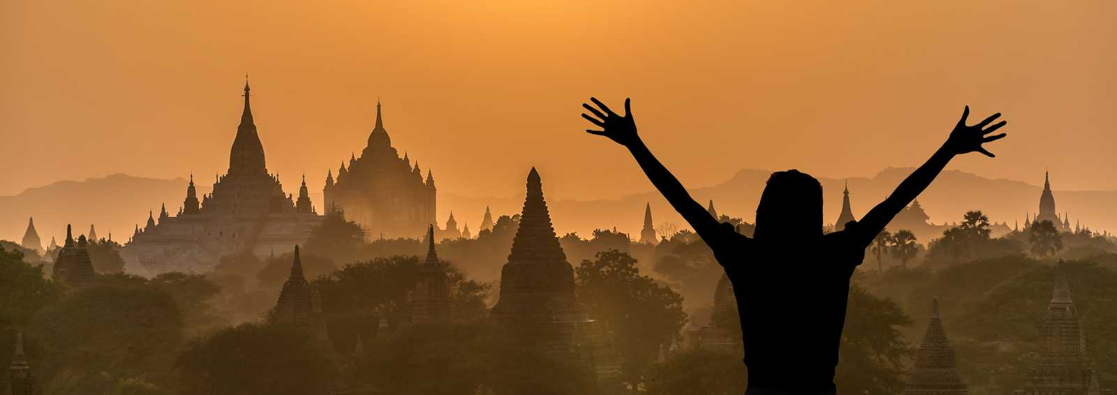Myanmar Bagan Sunrise