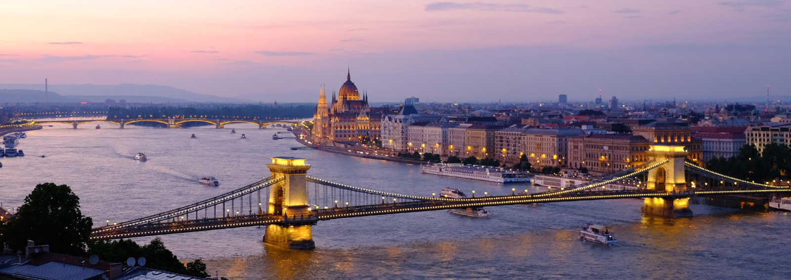 Budapest City at Night