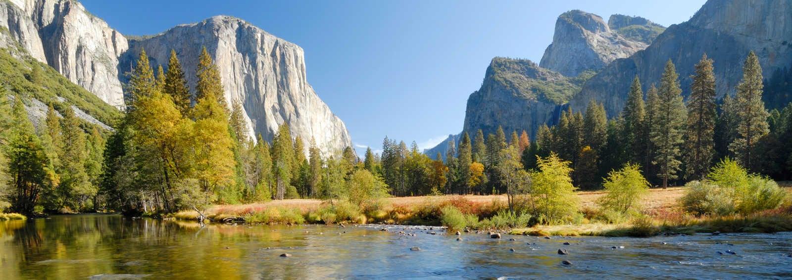 Autumn in Yosemite Valley, USA