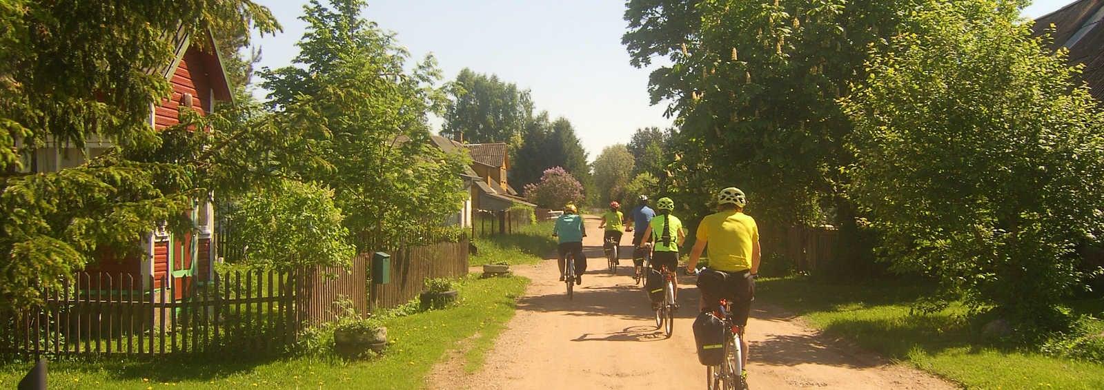 Cycling in Latvia