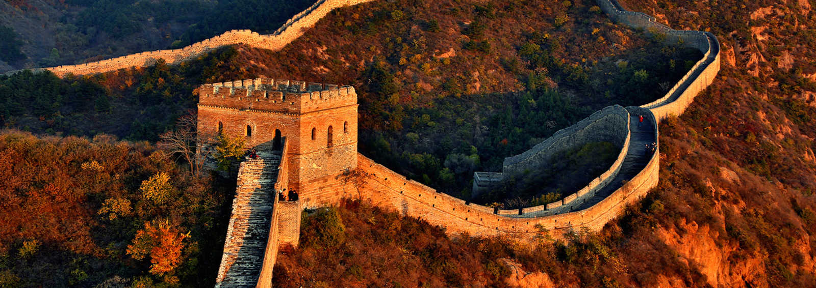 Great Wall at Sunset, Sunset